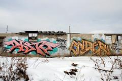 DISTO ENDER (Hahn Conkers) Tags: columbus ohio graffiti distort ender disto