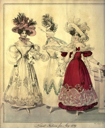 006-The World of fashion and continental feuilletons 1829