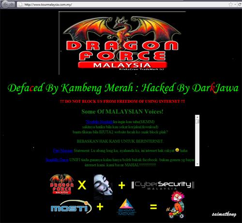 Tour Malaysia Hacked