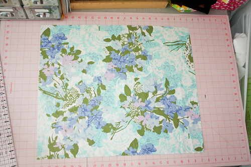 Tutorial: How to Cut Up a Vintage Sheet - In Color Order
