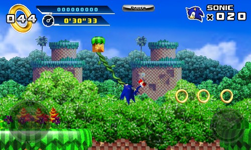 Sonic 4 - Episode I (Windows Mobile 7)