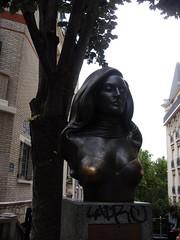 Buste de Dalida