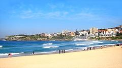 Bondi Beach (Mary Faith.) Tags: ocean summer holiday beach water bondi swim sand surf waves play famous sydney australia tourist recreation ringexcellence