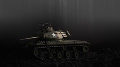 M-41 Walker Bulldog tank