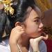 Balinese Girl at Kedisan Ceremony