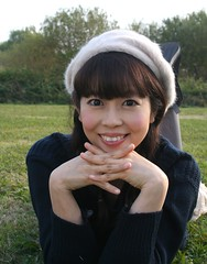 Evergreen With You (emotiroi auranaut) Tags: beauty beautiful nature green lovely cute japan jpop singer smile smiling natural adorable nice