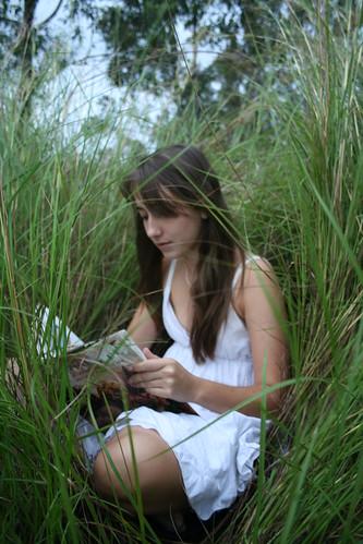 Camille in Grass Nest