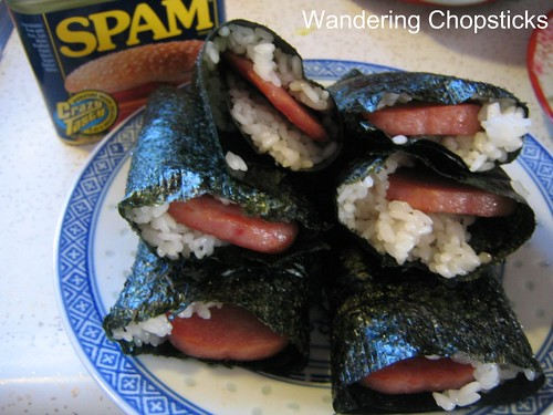 Spam Musubi 1