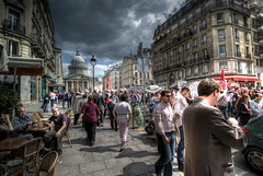 May Day (wili_hybrid) Tags: street city people urban paris france french photo photos protest picture sunny pic demonstration mayday hdr streetview quartierlatin wonderfulworld amemoryofourdailylife dwcffurban