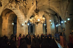 Church of the Holy Sepulchre (! .  Angela Lobefaro . !) Tags: trip travel vacation people church hat angel easter religious death israel catholic christ cross quality faith jerusalem religion jesus tapis monk christian holy nubes rug priest irs christianity ostern nuages briefing orthodox churchoftheholysepulchre pilgrimage holyland oldcity pascha crucifixion pilgrim allrightsreserved italians teppich golgotha statusquo calvary armenian pasqua resurrection israele gerusalemme yerushalayim patriarch newtestament terrasanta tappeto ges holysepulchre churchoftheholysepulcher santosepolcro holidaysvacanzeurlaub angiereal naostisanastaseos surpharutyun  angelalobefaro angelamlobefaro sanctumsepulchrum   siriac massimilianogreco capert kansatalqiyma gettyvacation2010