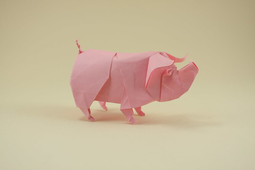 The Origami Forum View Topic Quentin Trollip Pig