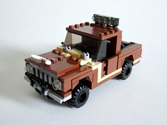 4x4 Pick-up truck (Aleksander Stein) Tags: road up truck lego 4x4 farm off pick