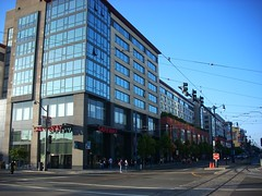 Transit oriented development at 4th & King Str...