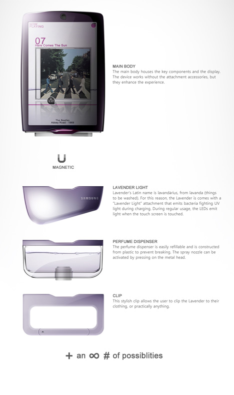 lavender-phone