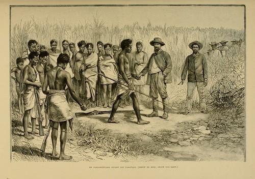015-Parlamentando con los Fahavalo-Madagascar finales siglo XIX