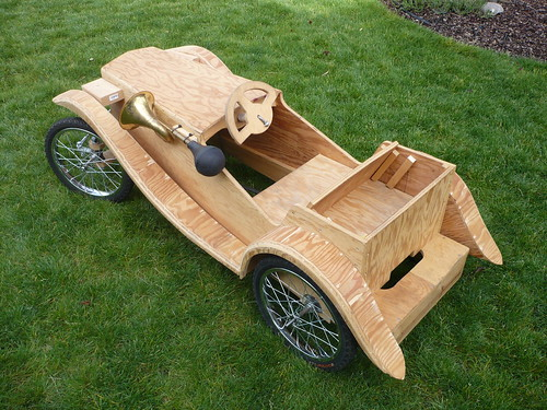 With build an adult pedal car speaking