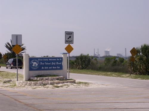 Fort Island Gulf Beach Entrance