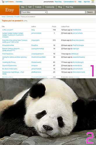 Seepy Panda.