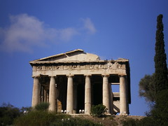 Greece 07 #27 (tt64jp) Tags: history archaeology greek temple ancient ruins europe european religion hellas athens greece sacred spiritual archeology grce remain agora  doric ancientgreece attica   archeologicalsite ancientagora hephaistos  theseion    templeofhephaestus lhistoire     attik