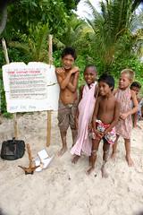 Appeal for Cyclone Aid (U Jay) Tags: polynesia solomonislands tikopia polynesiandance polynesianoutliers