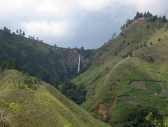 Waterfalls Sipiso Piso ~ Every drop returns to mother lake! ( GRACE - HOPE - JOY ) Tags: lake love home beautiful indonesia happy solitude day christ sweet hometown gorgeous north peaceful hills ancestor waterfalls serene forever eternity fathers toba sumatera tongging