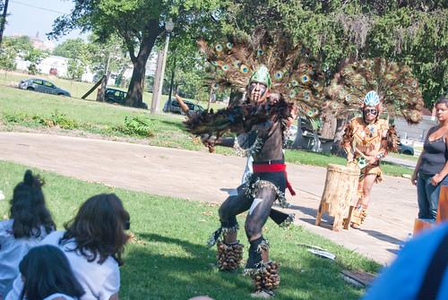 Aztec dance II