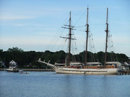 tall ship in Mystic