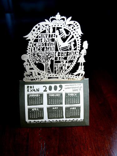 rob ryan 2009 calendar