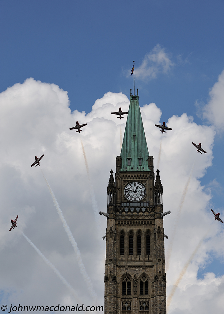 Snowbirds  - Peace Tower