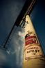 Art Will Eat Itself (dogwelder) Tags: california sign wheatpaste july billboard pole andywarhol artshow zurbulon6 echopark aerosol 2008 campbellssoup spraycan zurbulon