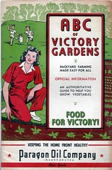 (WW2 victory garden poster)
