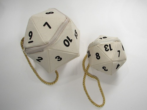 d20 small and large