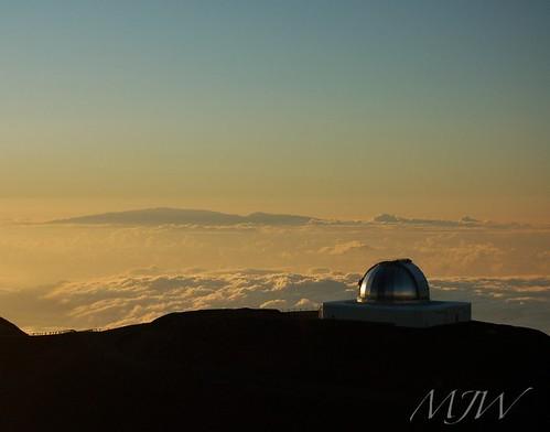 Maui from Mauna Kea