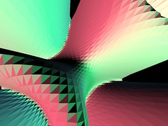 Bloom (Dmtr.org) Tags: opengl 3d code programming processing z numeric processingorg incaroads