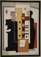 Fernand Leger, Still Life: King of Diamonds (genibee) Tags: stilllife painting washingtondc hirshhorn leger fernand 1927 cubism kingofdiamonds