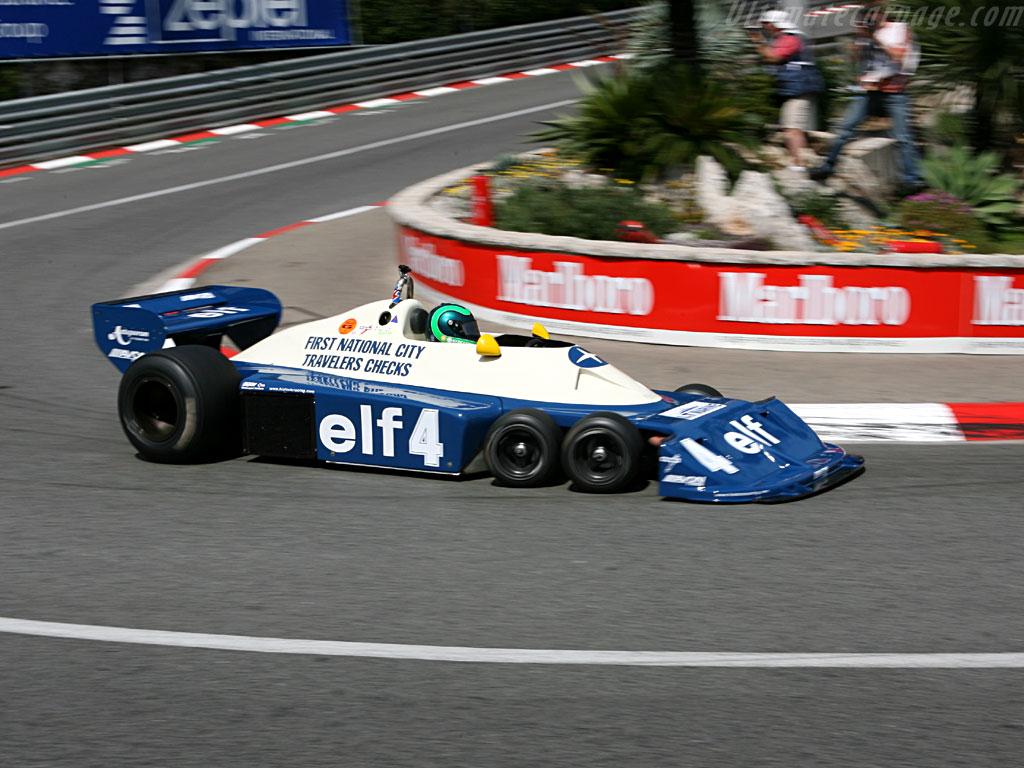 six-wheeled Tyrrell P34