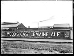 Woods Castlemaine Ale advertisement, Hunter Street, Newcastle West, NSW, 24 June 1898 (Cultural Collections, University of Newcastle) Tags: beer ads newcastle woods ale australia advertisement nsw castlemaine 1898 hunterstreet hunterst woodsale ralphsnowball snowballcollection ralphsnowballcollection asgn0663b28 woodscastlemaineale castlemaineale newcastleregionnswhistorypictorialworks photographynewsouthwalesnewcastle