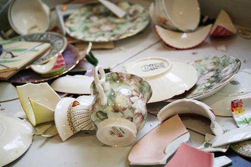 broken teacups