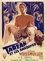 Tarzan et les amazones (vatop) Tags: johnny weissmuller
