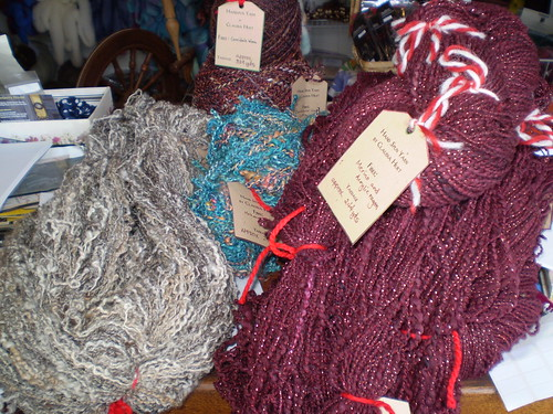 Gorgeous yarns by Claudia Hurt