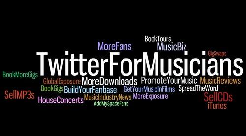 Twitter for Musicians Logo