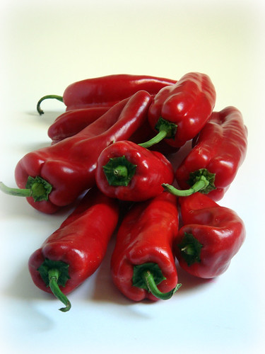 Red pepper - piperies florinis