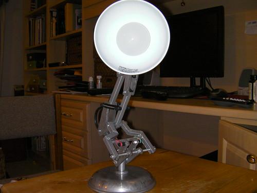 My Homemade Luxo Jr. Lamp