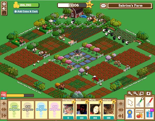 A FarmVille Farm in All Its Glory