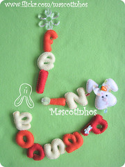 Mbile Pscoa (Mascotinhos em Feltro) Tags: bunny easter felt