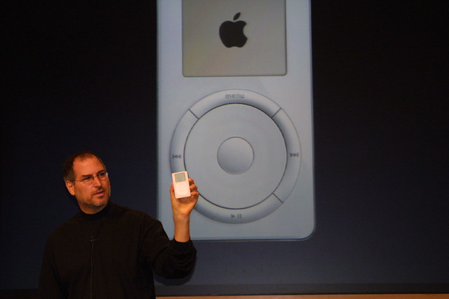 It's the new iPod from Apple