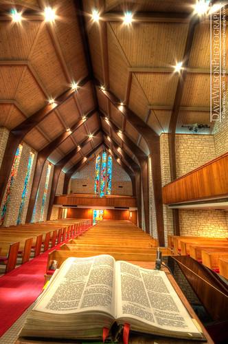 Sanctuary, Central Presbyterian Church, Austin