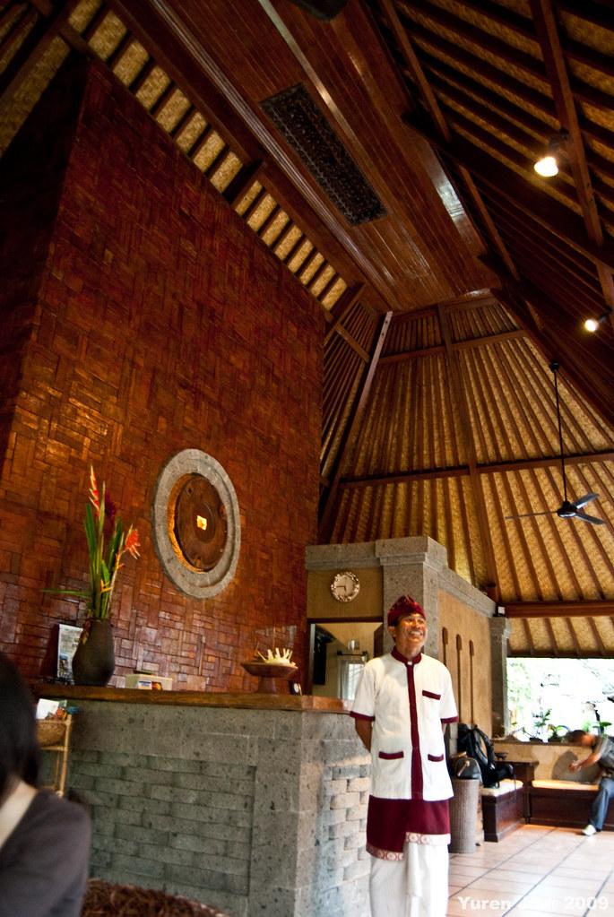 第一站就到下榻的民宿  Tunjung Mas