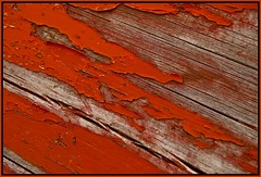 peelin (tiffa130) Tags: wood old red paint free creativecommons stockphotos weathered peel flickrstock photobytiffa