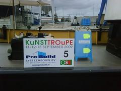 KuNSTTROuPE punt 5 #kt09nl www.ateliersschagen.nl
